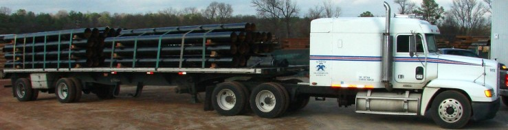 20' Steel Casing Pipes Shipping Southeast and Nationwide