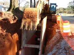 Open Cut trenching and excavation