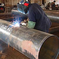 ERW Welded Steel Pipe, Adjoining end-to-end welds & midwelds